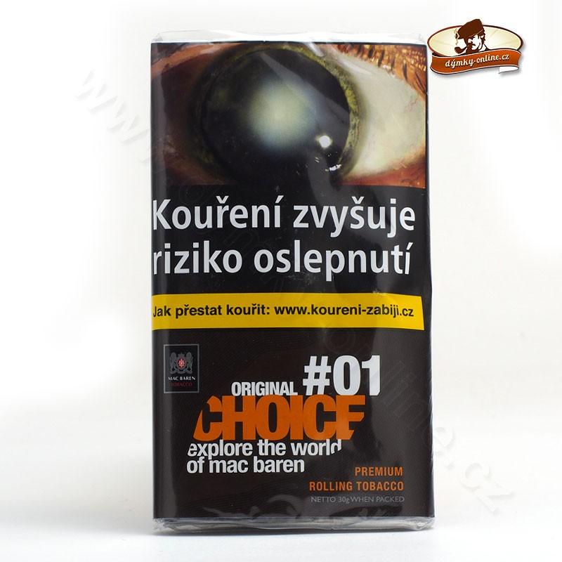 Cigaretový tabák Mac Baren - Original Choice #01 30g