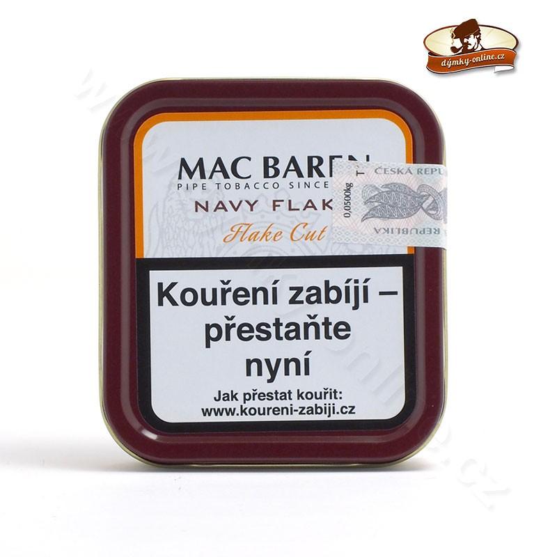 Dýmkový tabák Mac Baren Navy Flake 50g