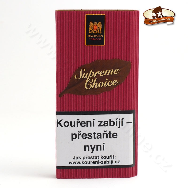 Dýmkový tabák Mac Baren Supreme Choice- Cherry Choice