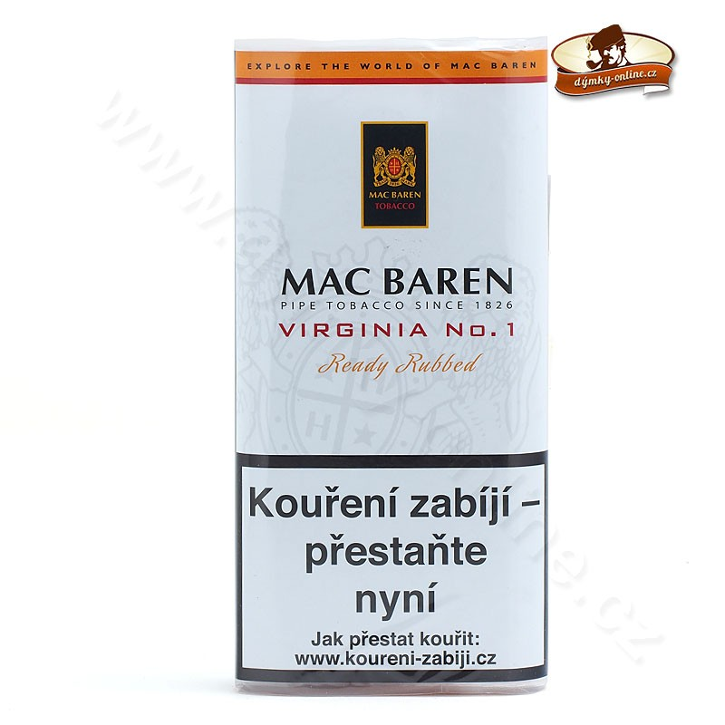 Dýmkový tabák Mac Baren Virginia No.1 50g