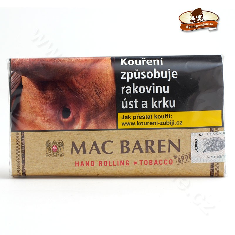 Cigaretový tabák Mac Baren Hand Rolling- Pure Tabaco