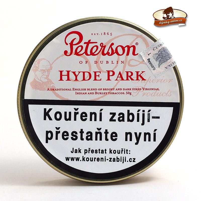 Dýmkový tabák Peterson Hyde Park 50g