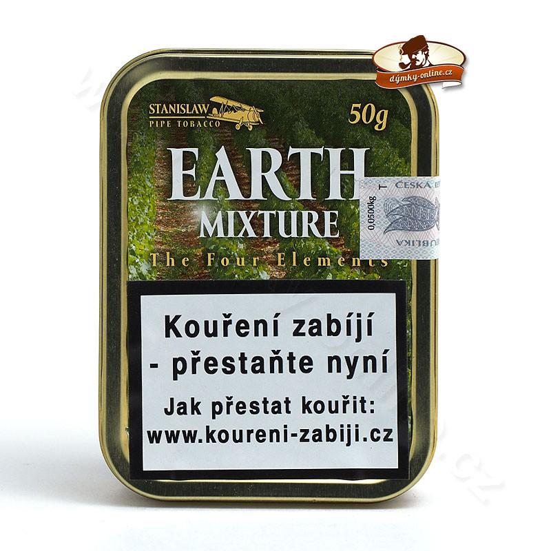 Dýmkový tabák Stanislaw - The Four Elements Earth 50g