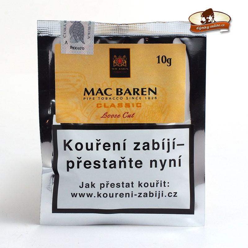Dýmkový tabák Mac Baren Classic - Vanilla 10 g