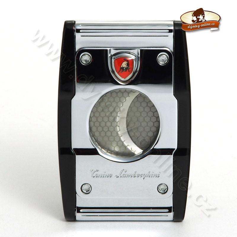 Ořezávač na doutníky Tonini Lamborghini Precisione Chrom- černý