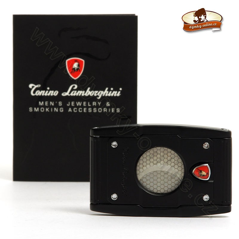 Ořezávač na doutníky Tonini Lamborghini Precisione černý