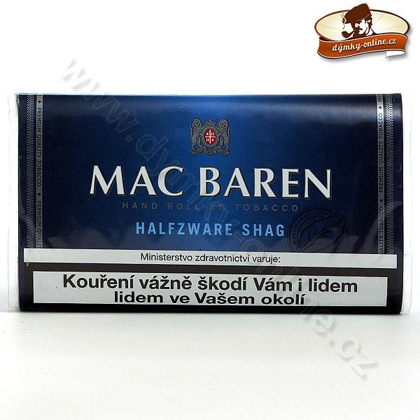 Mc Baren cigaretový tabák Halfzware Shag 30g