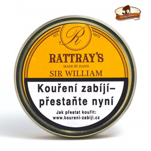 Dýmkový tabák Rattray´s Sir William- Peterson Irish Mixture 50g