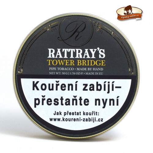 Dýmkový tabák Rattray´s Tower Bridge - Peterson Connoisseur´s 50g