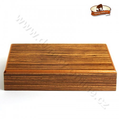 Humidor Angelo Zebra Wood 82078
