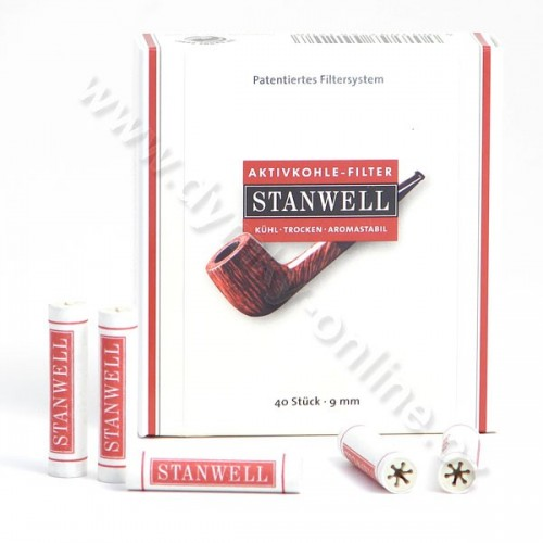 Filtry do dýmky 9 mm Stanwell 40ks