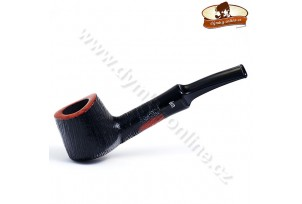 Dýmka Stanwell  Brushed Black Rustico Ass 118