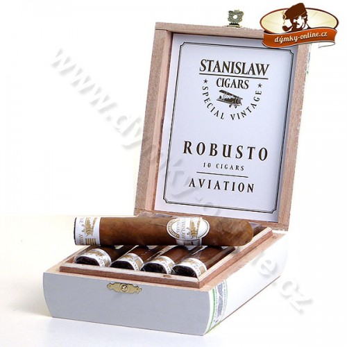 Doutníky Stanislaw Special Vintage Aviation - Robusto / 10ks